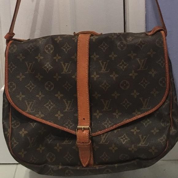 fba4ce5aa0ce Louis Vuitton Handbags - LV Crossbody large saddle bag. AR1914..Nov 1994.